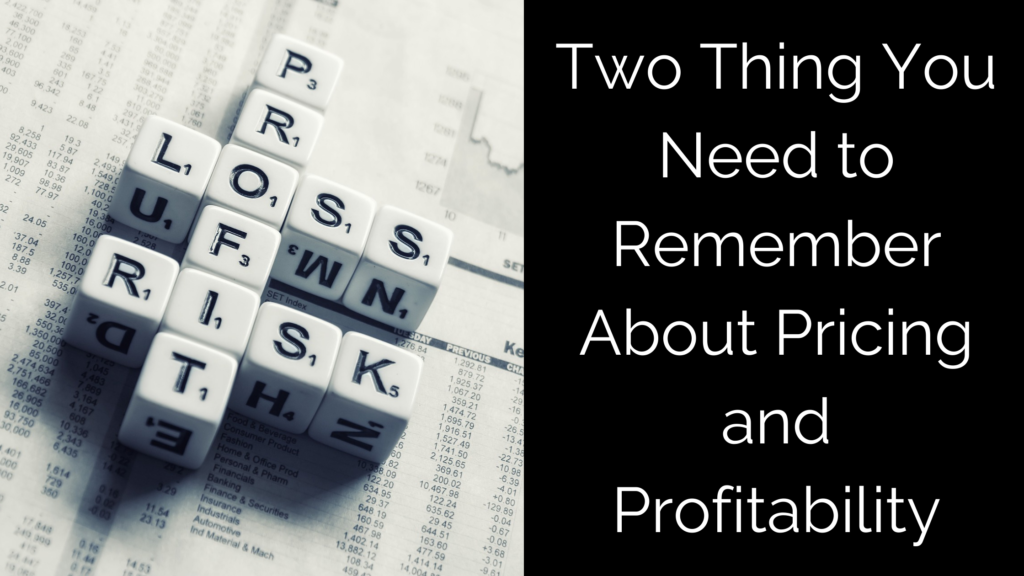 Profitability Pricing